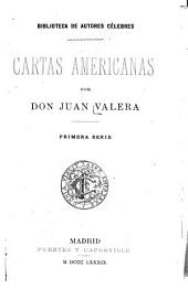Cartas americanas: Volumen 1