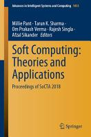 Soft Computing  Theories and Applications PDF