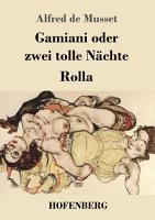 Gamiani oder zwei tolle N  chte   Rolla PDF