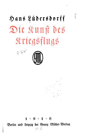 Die Kunst des Kriegsflugs PDF