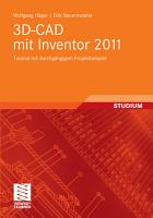 3D CAD mit Inventor 2011 PDF