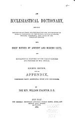 An Ecclesiastical Dictionary
