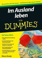 Im Ausland leben f  r Dummies PDF