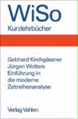 Einf  hrung in die moderne Zeitreihenanalyse PDF