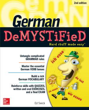 German DeMYSTiFieD  Second Edition PDF