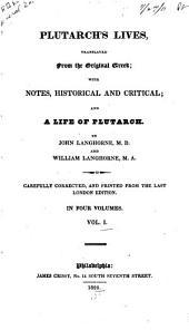 Plutarch's Lives: Volume 1