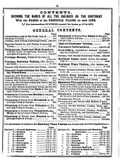 Bradshaw's continental [afterw.] monthly continental railway, steam navigation & conveyance guide. June 1847 - July/Oct. 1939. Special ed: Issue 222