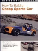 How To Build a Cheap Sports Car PDF