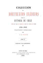 Colección de documentos inéditos para la historia de Chile, desde el viaje de Magallanes hasta la batalla de Maipo, 1518-1818. Colectados y publicados por J.T. Medina: Almagro y sus compañeros