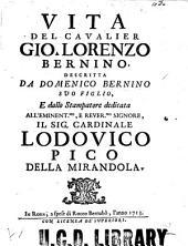 Vita del cavalier Gio. Lorenzo Bernino