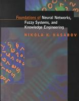 Foundations of Neural Networks  Fuzzy Systems  and Knowledge Engineering PDF