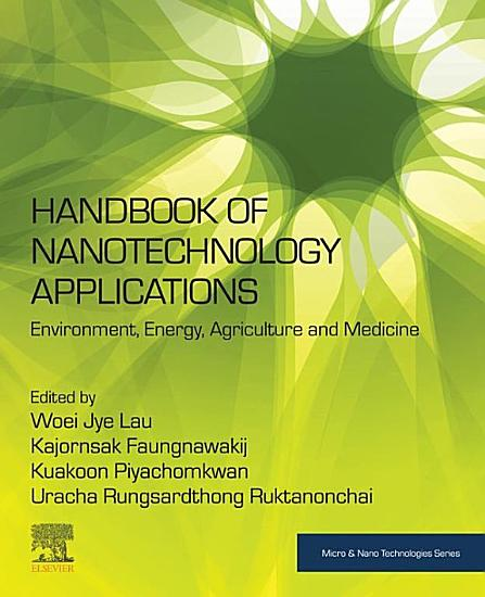 Handbook of Nanotechnology Applications PDF