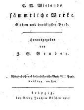 Philosophische und kulturhistorische Werke