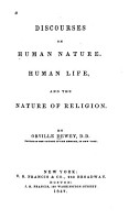 Discourses on Human Nature  Human Life  and the Nature of Religion PDF