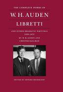 W H  Auden and Chester Kallman PDF