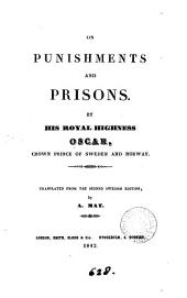 On punishments and prisons, tr. by A. May