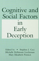 Cognitive and Social Factors in Early Deception PDF