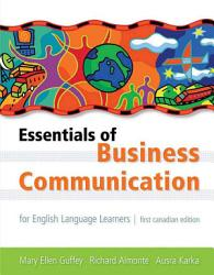 Essentials Of Business Communication For English Language Learners Book PDF
