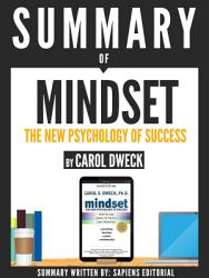 Summary of 'Mindset: The Psychology Of Success - By Carol Dweck'