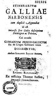 Itinerarium Galliae Narbonensis