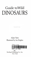 Guide to Wild Dinosaurs PDF