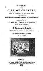 History of the City of Chester