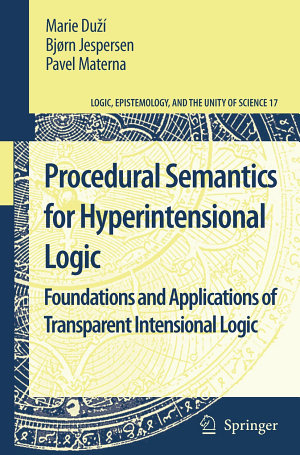 Procedural Semantics for Hyperintensional Logic