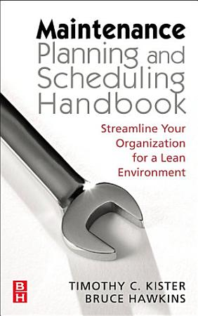 Maintenance Planning and Scheduling PDF