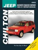 Chilton's Jeep Wagoneer/Comanche/Cherokee 1984-01 Repair Manual