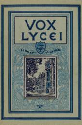Vox Lycei 1931-1932