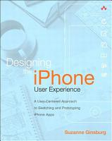 Designing the iPhone User Experience PDF
