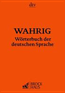 Wahrig  W  rterbuch der deutschen Sprache PDF
