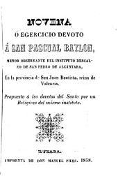 Novena a San Pascual Baylón