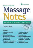 Massage Notes PDF