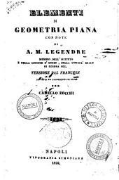 Elementi di geometria piana con note di A. M. Legendre