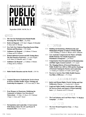American Journal of Public Health PDF