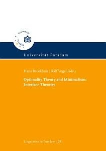 Optimality Theory and Minimalism PDF