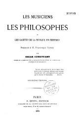 Les musiciens, les philosophes et les gaietés de la musique en chiffres: réponse à M. Francisque Sarcey