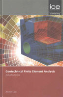 Geotechnical Finite Element Analysis PDF