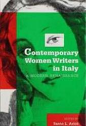Contemporary Women Writers in Italy: A Modern Renaissance