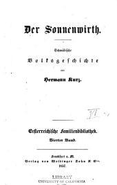 Der Sonnenwirth: Schwäbische Volksgeschichte