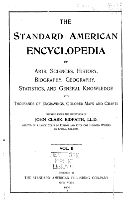 The Standard American Encyclopedia of Arts  Sciences  History  Biography  Geography  Statistics  and General Knowledge     PDF