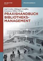 Praxishandbuch Bibliotheksmanagement PDF