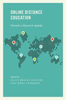 Online Distance Education PDF