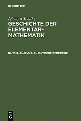 Analysis  analytische Geometrie PDF