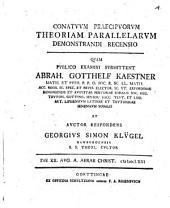 Conatuum praecipuorum theoriam parallelarum demonstrandi recensio