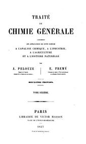 Traité de chimie générale, analytique industrielle et agricole: comprenant les applications de cette science à l'analyse chimique, à l'industrie, à l'agriculture et à l'histoire naturelle, Volume6