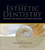 Principles and Practice of Esthetic Dentistry PDF