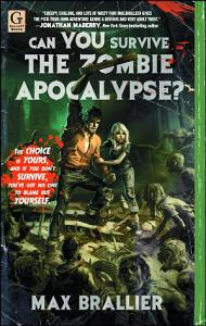 Can You Survive the Zombie Apocalypse  Book