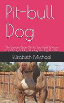 Pit Bull Dog Book PDF